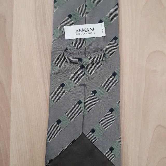 ARMANI COLLEZIONI(アルマーニ コレツィオーニ)のアルマーニ☆ネクタイ☆美品 メンズのファッション小物(ネクタイ)の商品写真