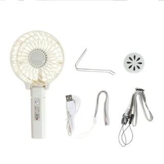 充電式マルチハンディファン アロマトレー付き(扇風機)