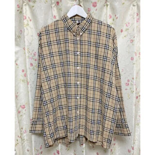BURBERRY - 美品 チェックシャツ 人気商品 レア