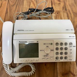 パナソニック(Panasonic)のFAX  Panasonic KX-PW606-W(電話台/ファックス台)