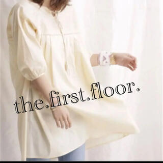ナノユニバース(nano・universe)のthe.first.floor.タッセルエンブロイダリーワンピ(ひざ丈ワンピース)
