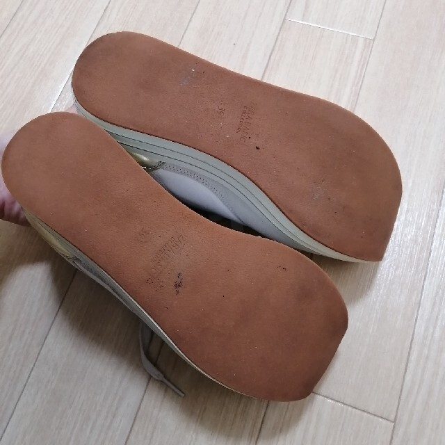 ZARA(ザラ)のZARA 厚底スニーカー 39 レディースの靴/シューズ(スニーカー)の商品写真