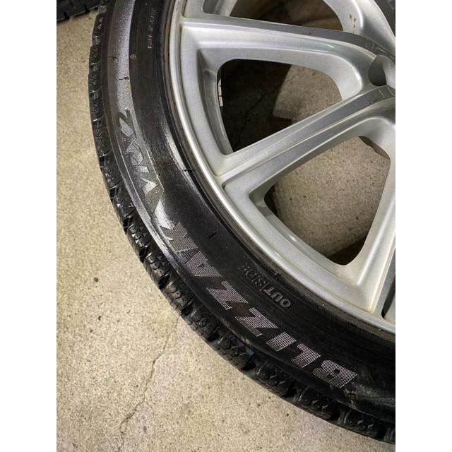 BRIDGESTONE(ブリヂストン)の国産 2017年製 スタッドレス 245/40R18 レクサスGS WRX 自動車/バイクの自動車(タイヤ・ホイールセット)の商品写真
