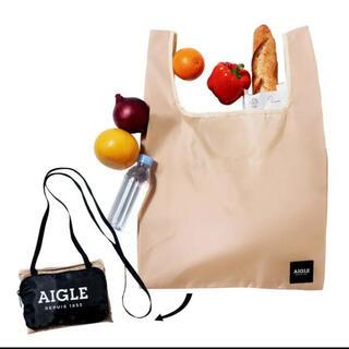 エーグル(AIGLE)のGLOW 6月号特別付録 エーグル ポシェット×エコバッグ  AIGLE(エコバッグ)