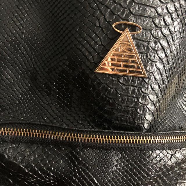 THE NORTH FACE(ザノースフェイス)のリュック クロコダイル風 韓国 美品 メンズのバッグ(バッグパック/リュック)の商品写真