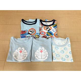 シマムラ(しまむら)のメッシュ/半袖/肌着/5枚/ドラえもん/トミカ(下着)