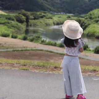 ザラ(ZARA)のザラガールズZARA girlsワイドパンツ110女の子(パンツ/スパッツ)
