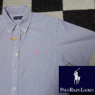 ラルフローレン(Ralph Lauren)の【ラルフローレン】半袖BDシャツL(180cm)(214)ポロ(シャツ)