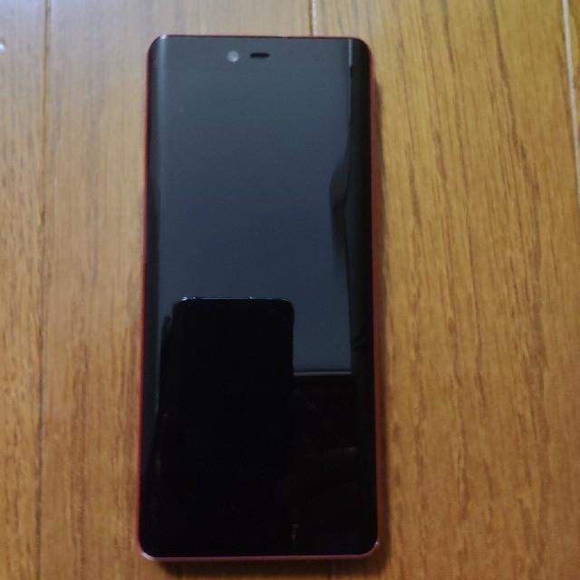 Rakuten(ラクテン)のRakuten hand 赤 本体 スマホ/家電/カメラのスマートフォン/携帯電話(スマートフォン本体)の商品写真