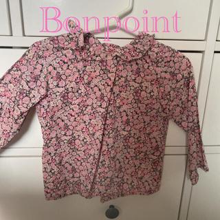 Bonpoint - ポンポワン*リバティ ブラウス*2A