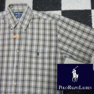ラルフローレン(Ralph Lauren)の【ラルフローレン】半袖BDシャツ海外S(809)BLAIREポロ(シャツ)