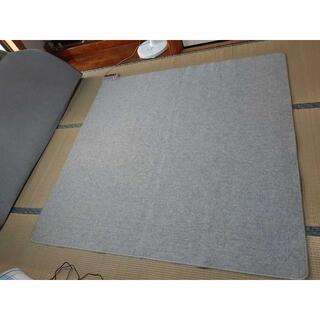 山善 YAMAZEN 電気カーペット 中古 175cm×175cm(ホットカーペット)