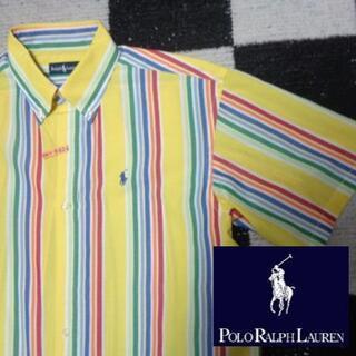 ラルフローレン(Ralph Lauren)の【ラルフローレン】半袖BDシャツ170cm(624)ポロM程度あり(シャツ)