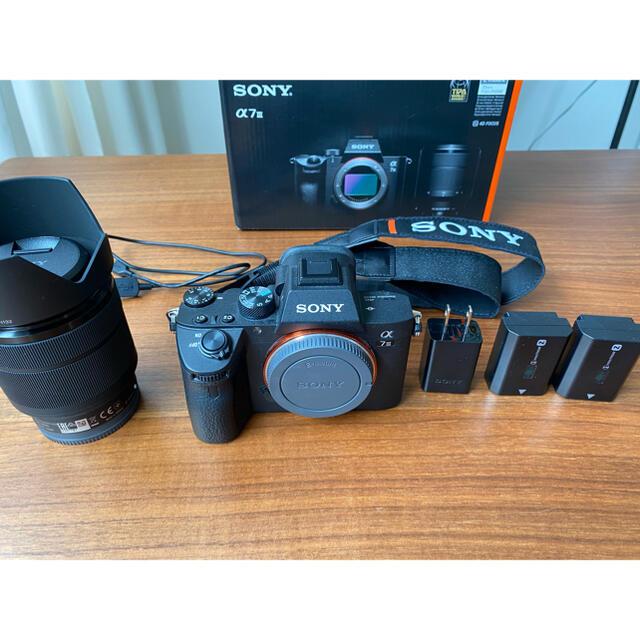 SONY(ソニー)のSONY α7III レンズキット スマホ/家電/カメラのカメラ(ミラーレス一眼)の商品写真