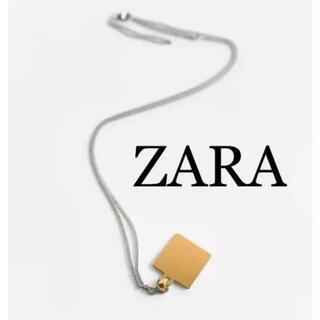 ザラ(ZARA)のZARA ザラ 新品 スターリングシルバー タグチェーンネックレス(ネックレス)