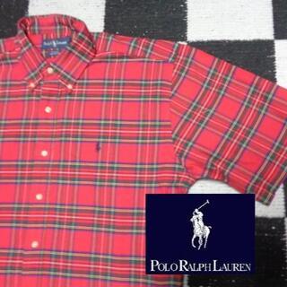 ラルフローレン(Ralph Lauren)の【ラルフローレン】特大半袖BDシャツ海外L(日本の3L程度あり)ポロ(シャツ)