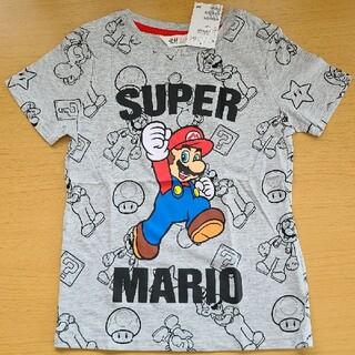 H&M - スーパーマリオ Tシャツ 120 130