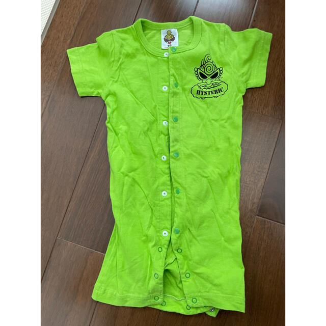 HYSTERIC MINI(ヒステリックミニ)のヒスミニ ロンパース 70 キッズ/ベビー/マタニティのベビー服(~85cm)(ロンパース)の商品写真