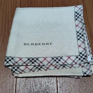 バーバリー(BURBERRY)の新品バーバリーシルク大判ハンカチーフ(ハンカチ)