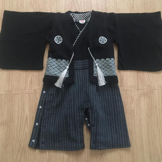 アカチャンホンポ(アカチャンホンポ)の袴ロンパース 男の子 80cm(和服/着物)