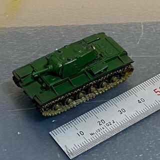 カイヨウドウ(海洋堂)のワールドタンクミュージアム KVー1A型 used品(模型/プラモデル)