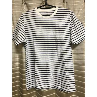 ユニクロ(UNIQLO)のUNIQLO ボーダー Tシャツ レディース M(Tシャツ(半袖/袖なし))