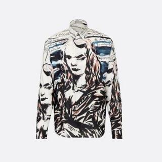 DIOR HOMME - dior homme 19aw シルクシャツ
