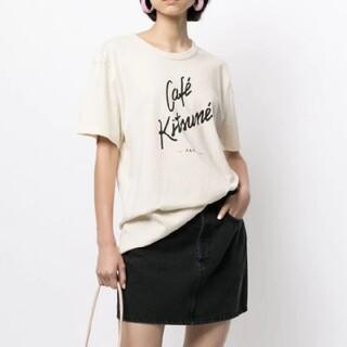 MAISON KITSUNE' - 新品 Maison Kitsune Tシャツ M / Cafe Kitsune