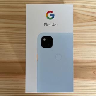 Google Pixel - 【新品未使用】Pixel4a  SIMロック解除済み