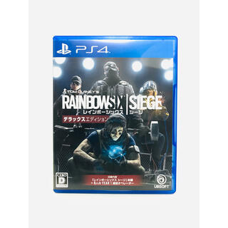 PlayStation4 - 【新品同様】PS4専用ソフト レインボーシックス シージ デラックスエディション