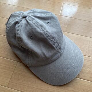 グレー キャップ 帽子 57cm(キャップ)