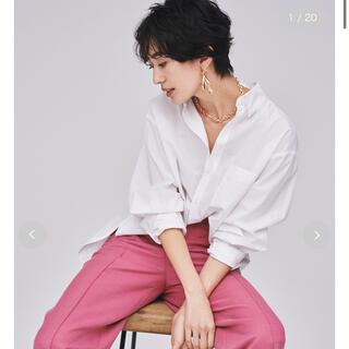 ミラオーウェン(Mila Owen)の新品タグ付き⭐︎隠し釦ダウンベーシックシャツ サイズ0(シャツ/ブラウス(長袖/七分))