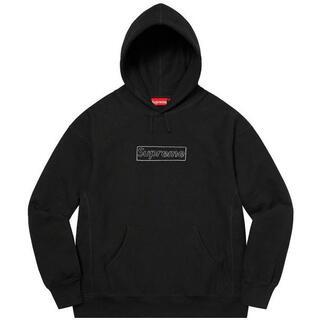 シュプリーム(Supreme)のSupreme KAWS Chalk Logo Hooded カウズ 国内 正規(パーカー)