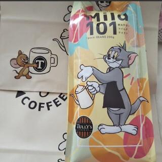タリーズコーヒー(TULLY'S COFFEE)のタリーズ トムとジェリーコーヒー豆マイルド101 200g&限定ショッパー付き(コーヒー)