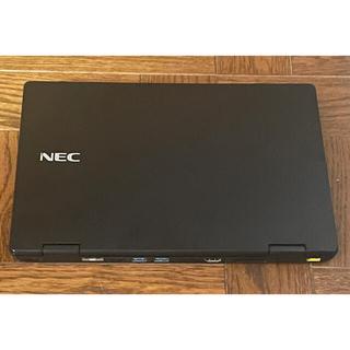 エヌイーシー(NEC)のMobile note NEC  PC-VJT12HZG3です、中古です。(ノートPC)