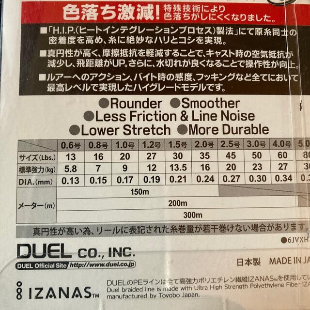 DUEL スーパーエックスワイヤー 1.2号 150m スポーツ/アウトドアのフィッシング(釣り糸/ライン)の商品写真