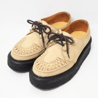 ジョージコックス(GEORGE COX)のジョージコックス ラバーソール 3588 ベージュ 24cm(ローファー/革靴)