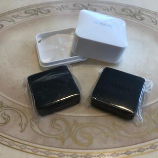 ARSOA - アルソア クイーンシルバー 石鹸、20g×2個。ケースを一つプレゼント。