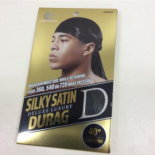 DU-RAG BLACK シルキーサテン ドゥーラグ 新品(その他)