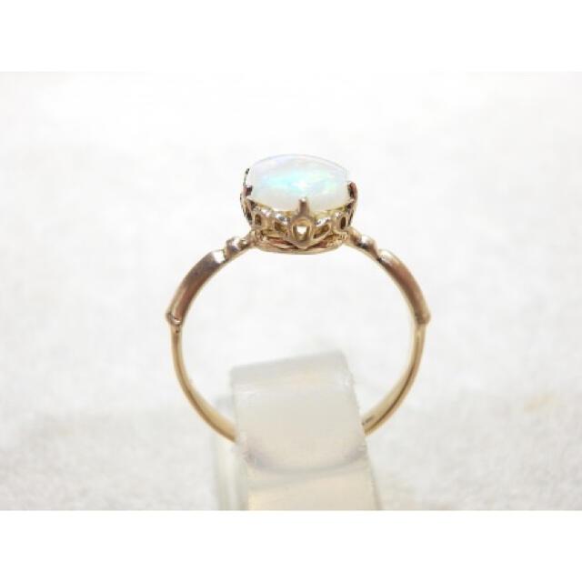 agete(アガット)の【みち様専用】K10 オパールリング レディースのアクセサリー(リング(指輪))の商品写真