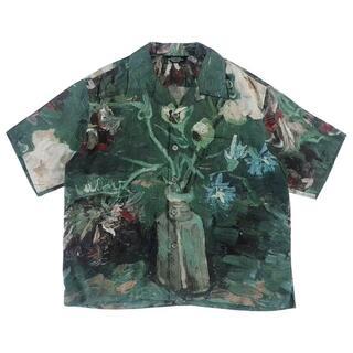 アンユーズド(UNUSED)のUNUSED  ハワイのプリントシャツ  XL(シャツ)