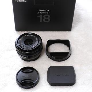 富士フイルム - 【美品】FUJIFILM XF18mm F2 R