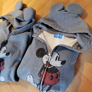 ディズニー(Disney)のTDL購入 ※ 裏起毛耳付きパーカー ペア(パーカー)