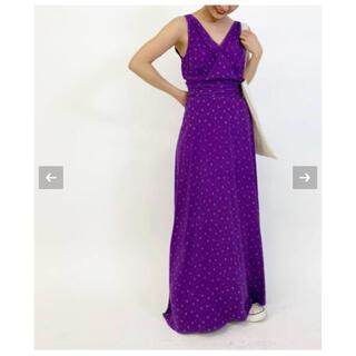 EDIT.FOR LULU - 新品 EDIT.FOR LULU ヴィンテージミニフラワープリント タンクドレス