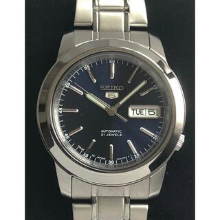 セイコー(SEIKO)の⭐️ 海外モデル セイコー5 ブルーフェイス(腕時計(アナログ))