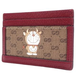 グッチ(Gucci)のグッチ ドラえもん×GUCCI カードケース ベージュ  40800072602(パスケース/IDカードホルダー)