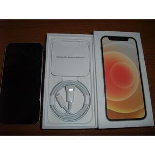 iPhone - 新品同様 iPhone12 mini 64gb ホワイト SIMフリー ◯判定