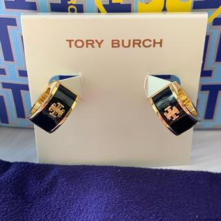 Tory Burch - 新品トリーバーチ 黒 ピアス
