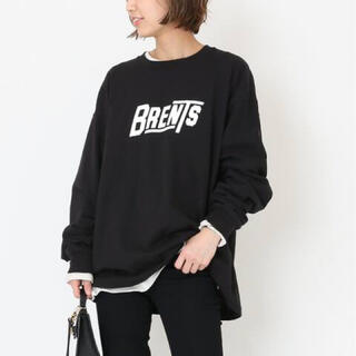 DEUXIEME CLASSE - ドゥーズィエムクラス BRENTS SPORTSWEAR ロゴ ロングTシャツ