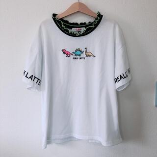 ピンクラテ(PINK-latte)のPINK LATTE☆Tシャツ☆XS☆150センチ(Tシャツ/カットソー)
